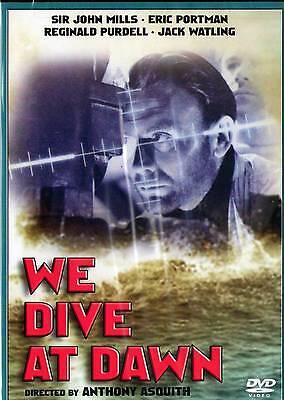 We Dive at Dawn (DVD, 2011) Sir John Mills, Eric Portman  BRAND (Sunrise Mills)