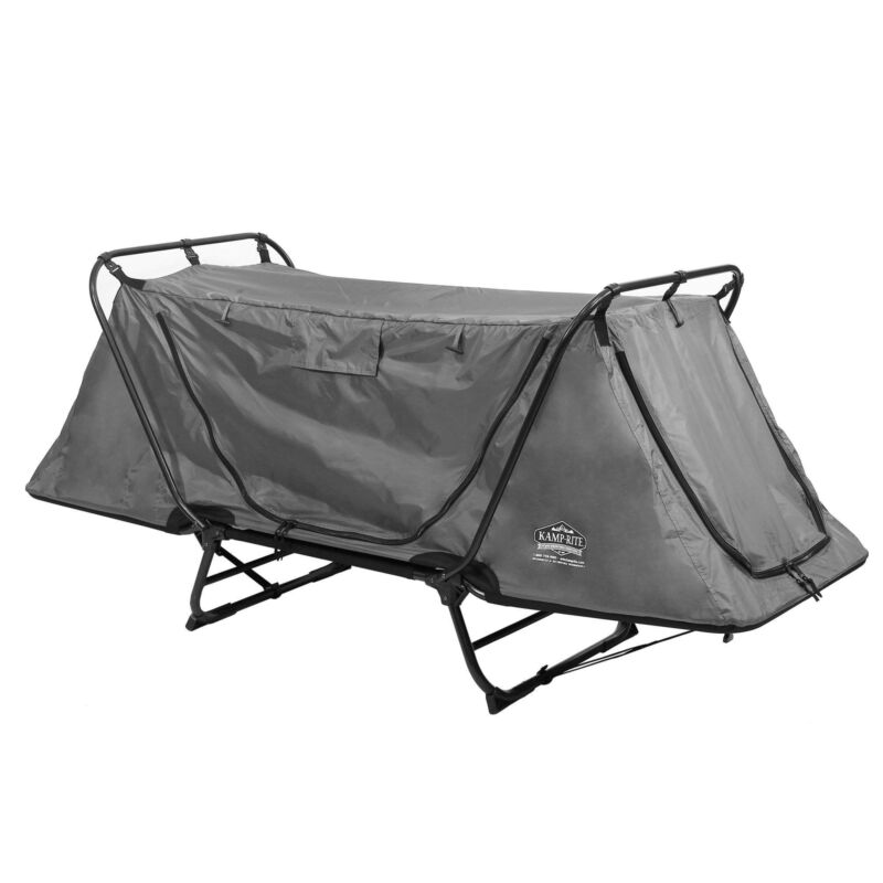 Kamp-Rite Original Tent Cot Folding Camping and Hiking Bed for 1 Person (Used)