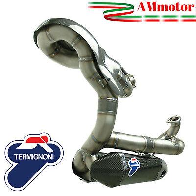 Full Exhaust System Racing Termignoni Ducati Panigale 959 2016 Silencer Titanium
