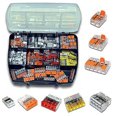 150 Stück WAGO 221 / 2273 Serie Box Sortiment Set Verbindungsklemme
