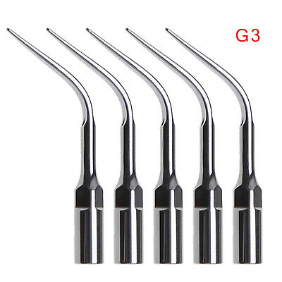5 G3 Dental Ultrasonic Piezo Scaler Scaling Tips Tip Hanpiece Fit Ems Usa Stock