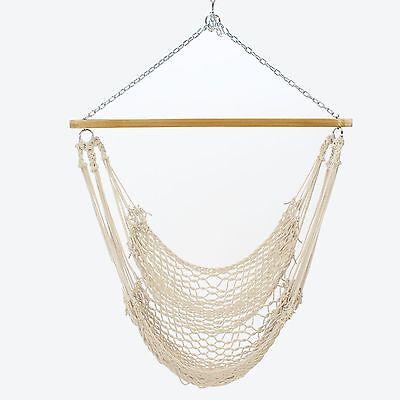 Pawleys Island Hammock Single Classic Rope Swing Cotton ()