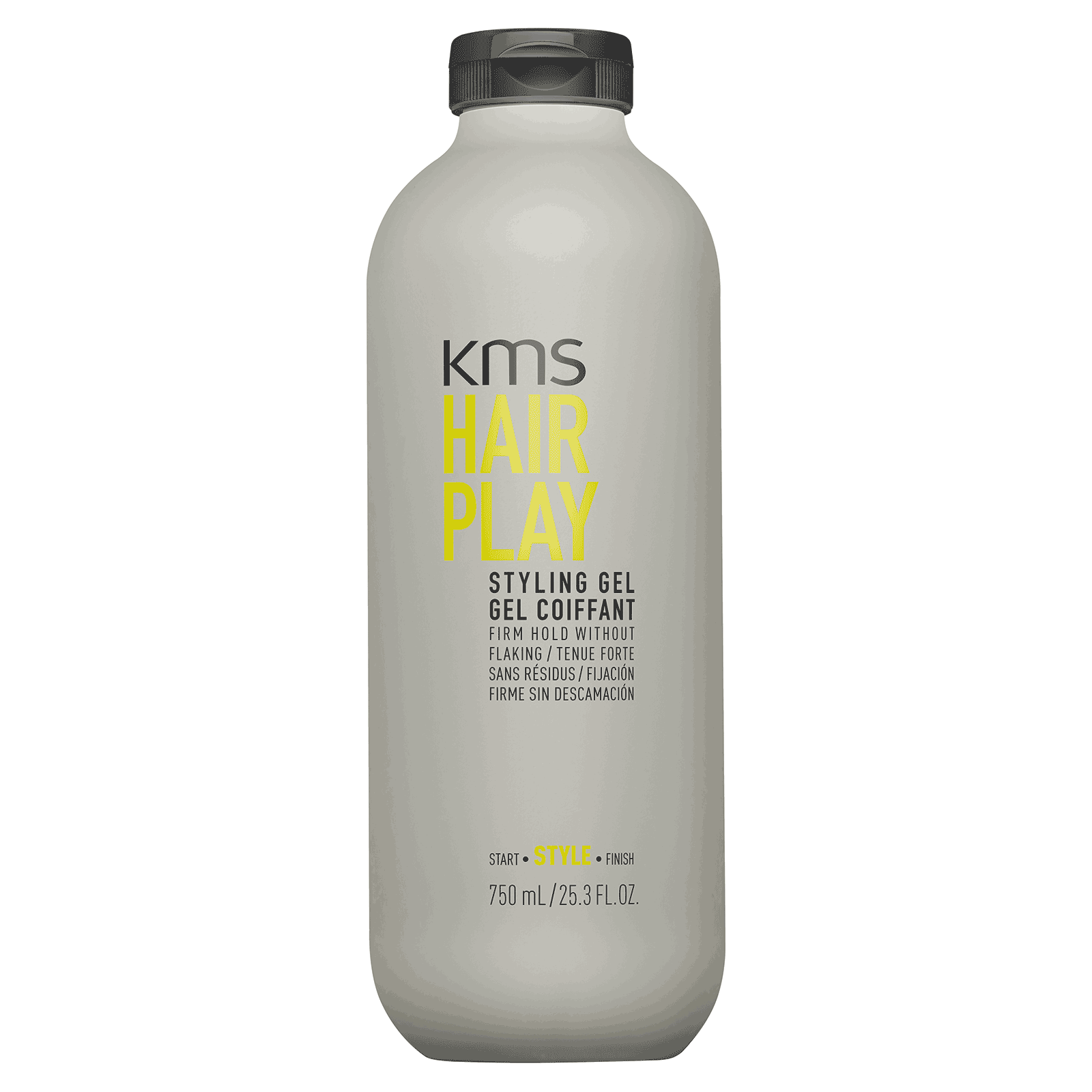 KMS Hair Play Styling Gel 25.3 fl oz / 750ml Firm Hold Witho