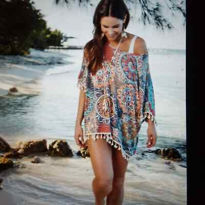 Beach Coverup by Elsie & Zoey