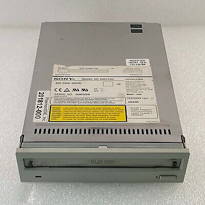 Sony Smo-f551 Mo Floppy Disk Drive For Sonos 55007500 Agilent Hp Ultrasound
