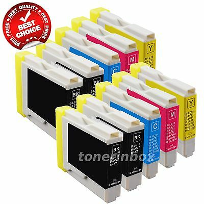 10 Pack New Ink Cartridge for Brother LC51 LC-51 MFC-465CN MFC-3360C MFC-5460CN Brother Lc51 Compatible Ink