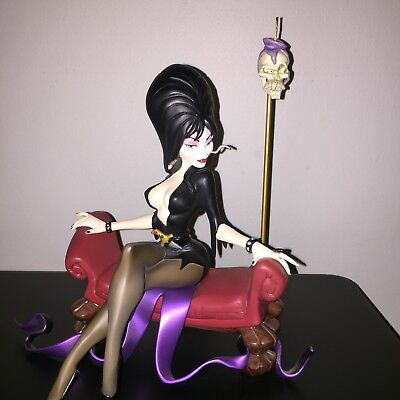Sideshow Exclusive Electric Tiki ELVIRA Statue Maquette. Hard To Find