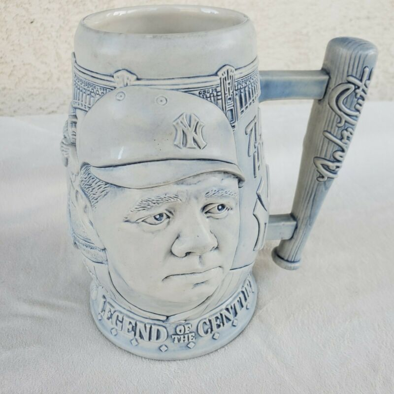 Babe Ruth Legend of the Century Avon Beer Mug Stein Excellent Condition Numbered