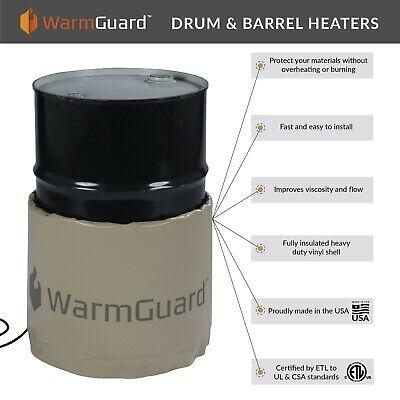 Warmguard Wg55 55-gallon Insulated Drum Heater - Barrel Heater Fixed Temp 145 F
