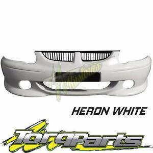HERON WHITE FRONT BAR SUIT VX VU SS HOLDEN COMMODORE 00-02 BUMPER Bayswater Knox Area Preview