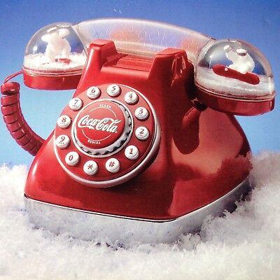 COCA COLA DOME COLLECTIBLE*PUSH BUTTON TELEPHONE* NIB