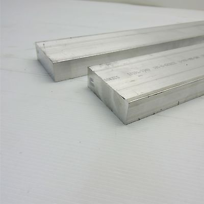 1 X 3 Aluminum Solid 6061 Flat Bar 22long Mill Stock Pieces 2 Sku A524