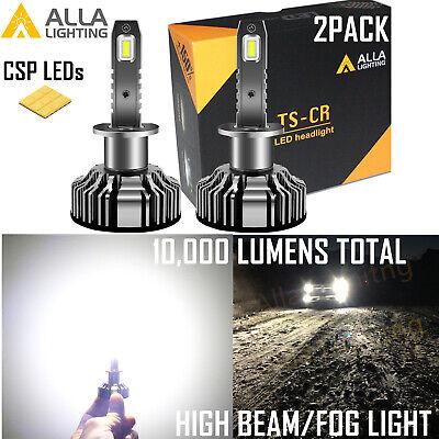 Alla Lighting Best Seller Brightest TS-CR LED H1 Headlight Replacement Bulb