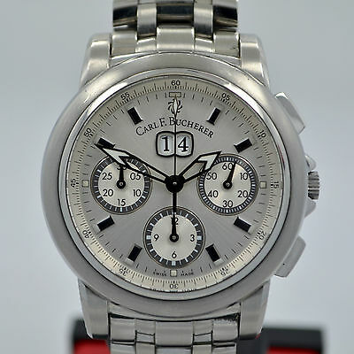 Carl F. Bucherer Patravi Stainless Steel Chronograph 11.0419 Automatic Watch