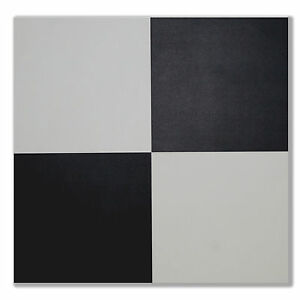 LOOSE LAY VINYL FLOOR TILES BLACK & WHITE EASY INSTALLATION- SAVE 60% OFF RETAIL
