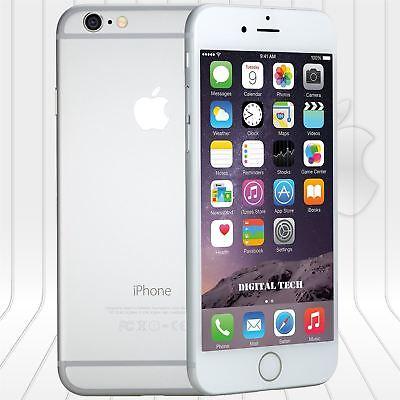 Apple Iphone 6 (64GB)  FACTORY UNLOCKED PHONE 4G LTE  IOS 9.4 HD Silver