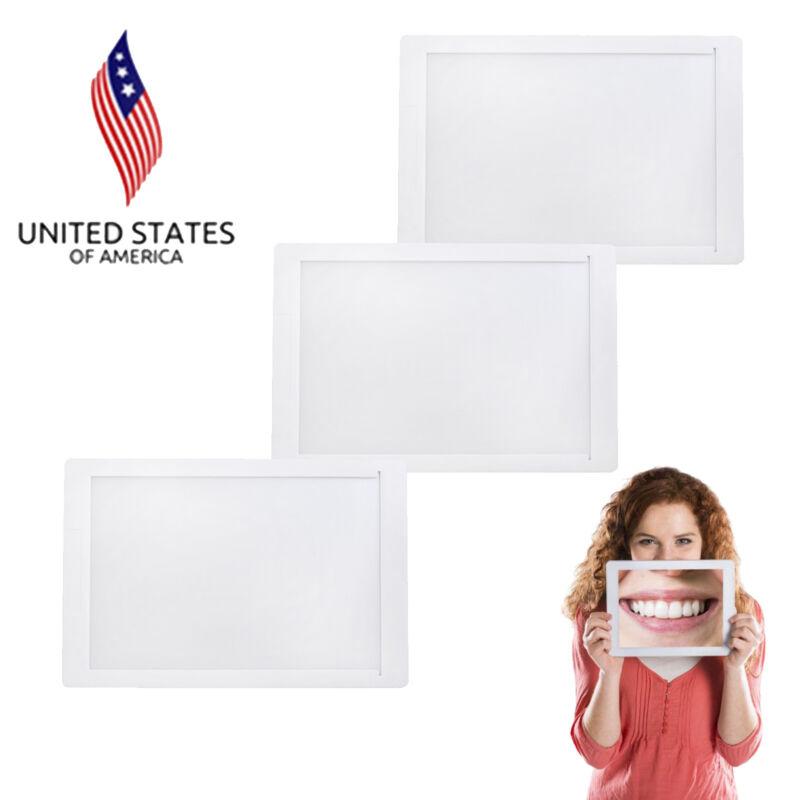 USPS 3× Dental X-Ray Film Illuminator Light Box Viewer LED light Panel Lab Tools
