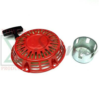 Pull Recoil Starter With Hub For 196cc 6.5hp 3000 3500 4000 Watts Gas Generator