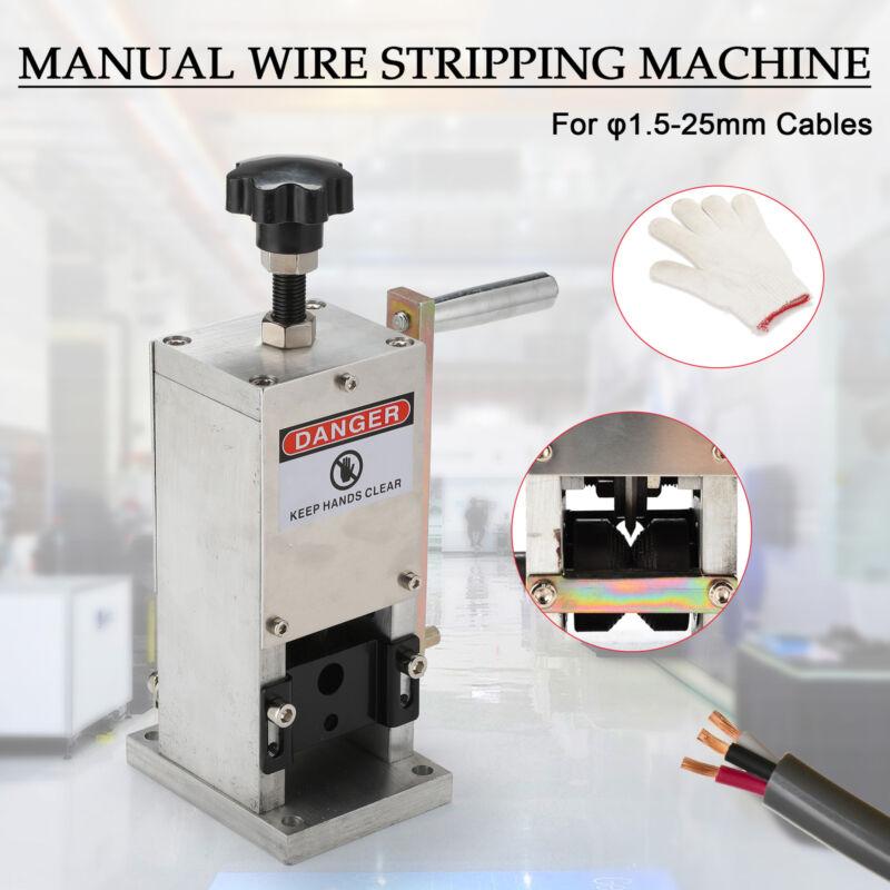 Manual Wire Stripping Machine Portable Scrap Cable Stripper
