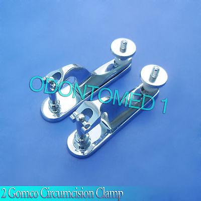 2 Pcs Gomco Circumcision Clamp 1.5cm 1.9cm Surgical Instruments