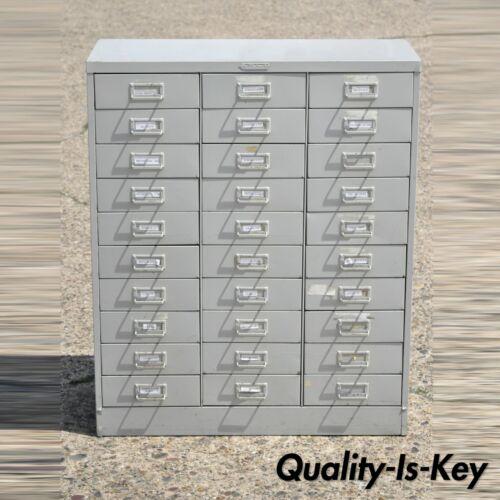 Steelmaster Industrial Steel Machinist 30 Drawer Storage Tool Chest Cabinet