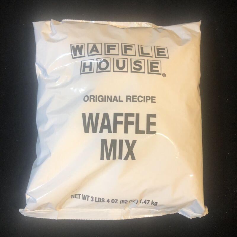 "WAFFLE HOUSE Original Recipe Waffle Mix 3 LB 4 OZ ""Best By: 08/02/21"""