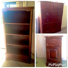 SOLID WOOD Bedroom Furniture Package New Farm Brisbane North East Preview