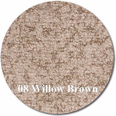 MariDeck Boat Marine Outdoor Vinyl Flooring - Willow Brown - 8.5' x 6'