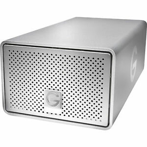 G-TECH - G-TECHNOLOGY - SILVER EMEA - 8TB USB3 - G-RAID - HARD DRIVE - 0G04070