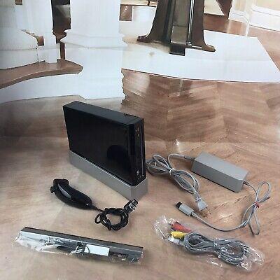 Nintendo Wii Black RVL-001 Console