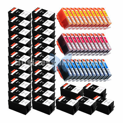 60 Pack 920xl Generic 920 Ink For Hp Officejet 6000 (e609...