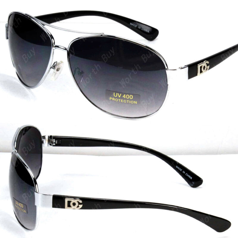 323e36e4fb6f New DG Eyewear Fashion Designer Sunglasses Mens Womens Black Retro Pilot  Shades