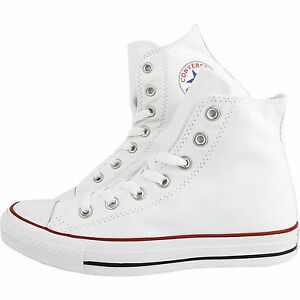 Converse-Classic-Chuck-Taylor-All-Star-White-HI-High-M7650-Trainer-Sneaker-NEW