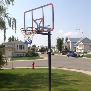 Basketball in ground lifetime