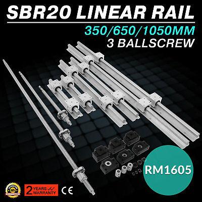 Sbr20-3006001000 Linear Rail3 Ballscrew Rm1605-3506501050bkbf 12coupler