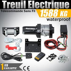 Treuil electrique telecommande sans fil