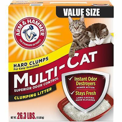 Arm & Hammer Multi-Cat Superior Odor Control Scented Clumpin