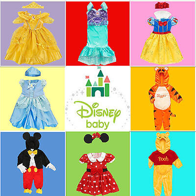 NEW QUALITY DISNEY CHARACTER BOY GIRL BABY KIDS DRESS UP PLAY HALLOWEEN COSTUMES