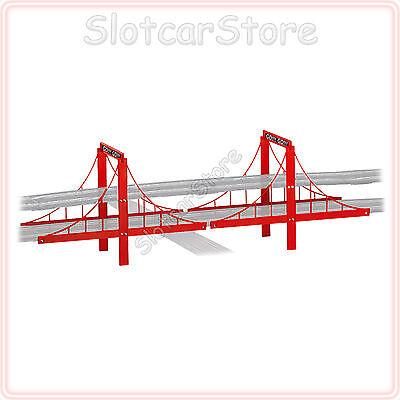 Carrera GO 61604 Brücke / Überfahrt rot 1:43 (auch Digital143 / GO Plus)