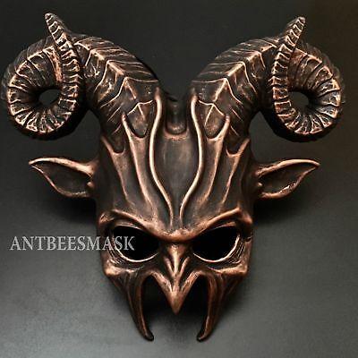 Halloween  Animal Demon Mask  costume Masquerade, Wall Deco Mask