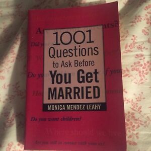 Book: 1001 Questions to ask Before You Get Married, 5$!