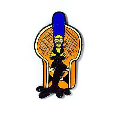 Marge Simpson Meets Elvira Mistress of the Dark Halloween Horror Style Pendant ](Marge Simpson Halloween)