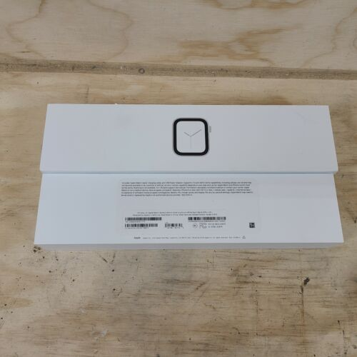 Box only Apple Watch Series 4 40mm  Silver Aluminum White EMPTY BOX ONLY