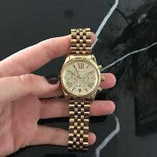 Gold Michael Kors oversize watch Fortitude Valley Brisbane North East Preview