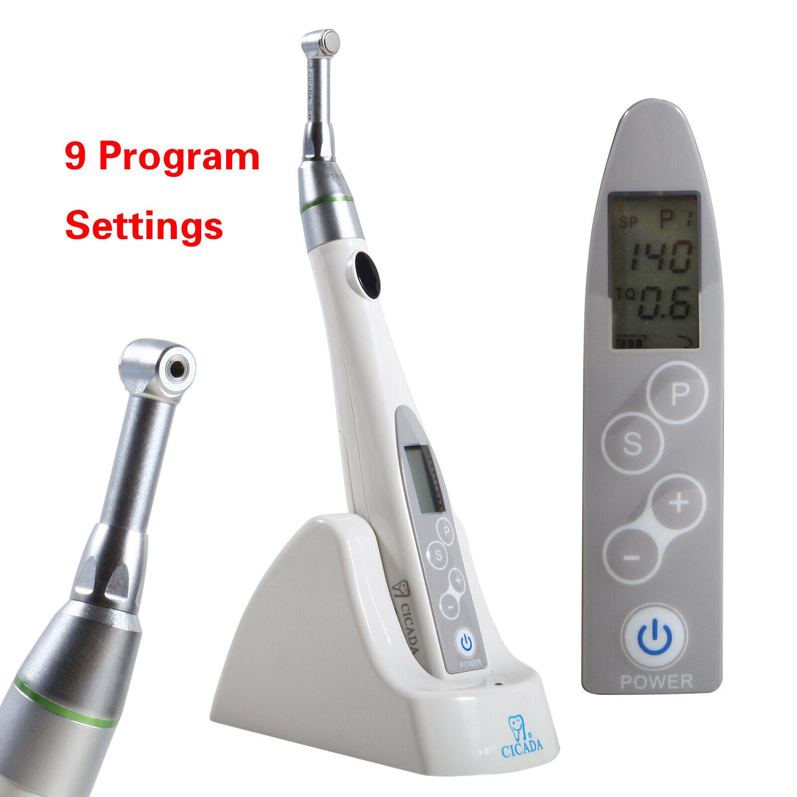 Dental Endodontic Endo Motor Treatment Reciprocating 16:1 Reduction Cordless ca