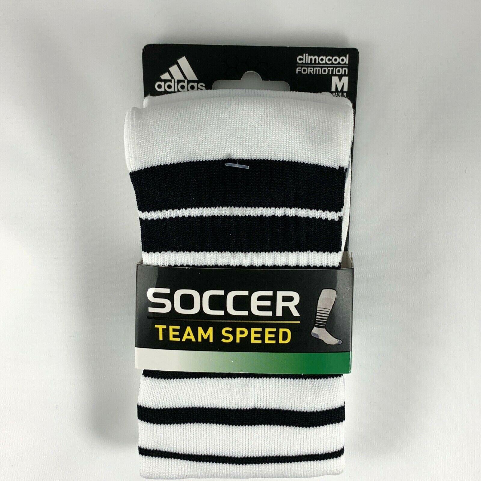 ADIDAS SOCCER Socks Climacool Unisex M Men 5-8.5 W 5-9.5 Whi