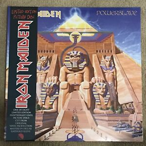 Iron Maiden - Powerslave Gatefold Vinyl Picture Disc.