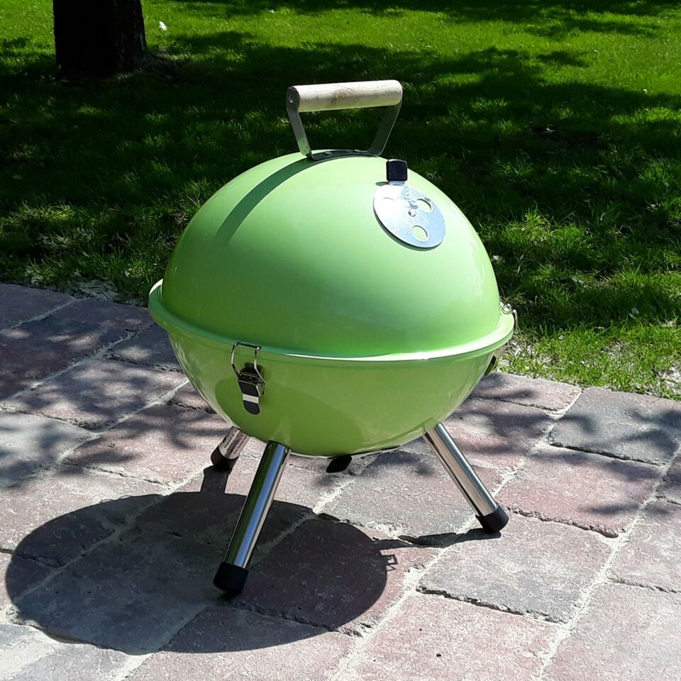 Mini Kugelgrill Stand Kugel Kohle Garten Camping Terasse Grill in Hage
