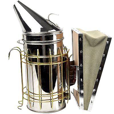NEU Edelstahl Smoker Imkerei Bienen Beekeeping Imkereibedarf Tools DE