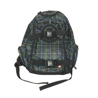 Element Backpack Bag Mohave Day Pack Large Plaid Skateboard Snowboard